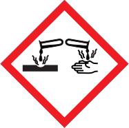 corrosive substance symbol
