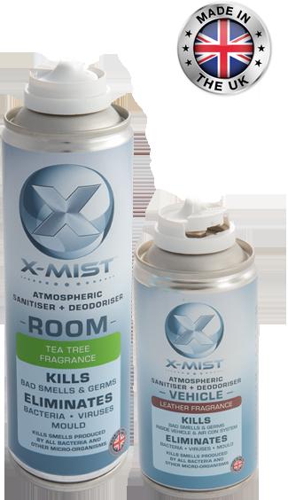 x-mist room car cans